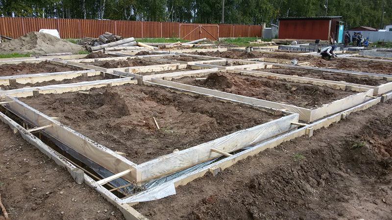 Расчёт армаутры для фундамента и бетонных конструкций.