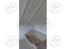 """Дом-баня из бревна """"Семейный"""""""